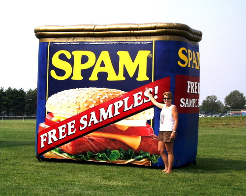 Spam, spam, baked beans and spam?